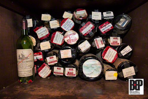The cellar also contains private wine collections that belonged to wealthy patrons, celebrities and past presidents.